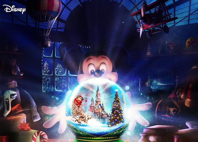 Reimagined Disney's The Christmas Season Disneyland Paris
