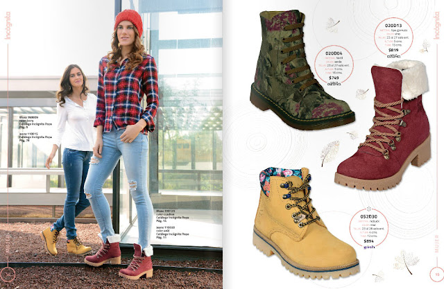 Incognita catalogo zapatos damas OI 2016 : botas