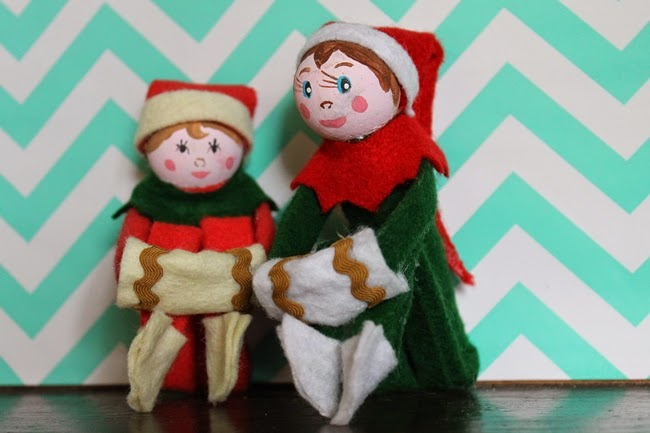 diy elf on a shelf 1950s vintage christmas pixie free pattern download