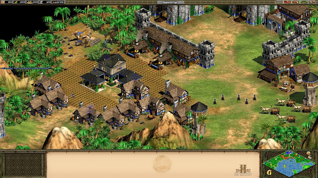 Age of Empire II HD Rise of the Rajas PC Gameplay