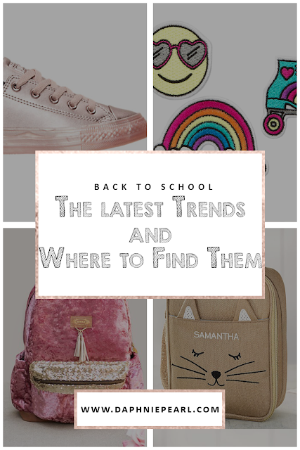 back to school shopping sale backpack shoes style trends