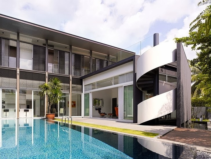 World of Architecture: Stunning Sunset House by Topos Design ... on monroe house, the colony house, sunrise house, wildflower house, pilot house,