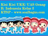 Kisi Kisi UKK B. Indonesia KTSP Kelas 2