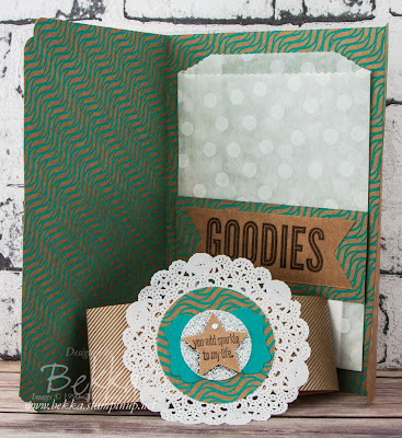 Cute Gift Packaging Idea using Stampin' Up! UK Supplies - check it out here