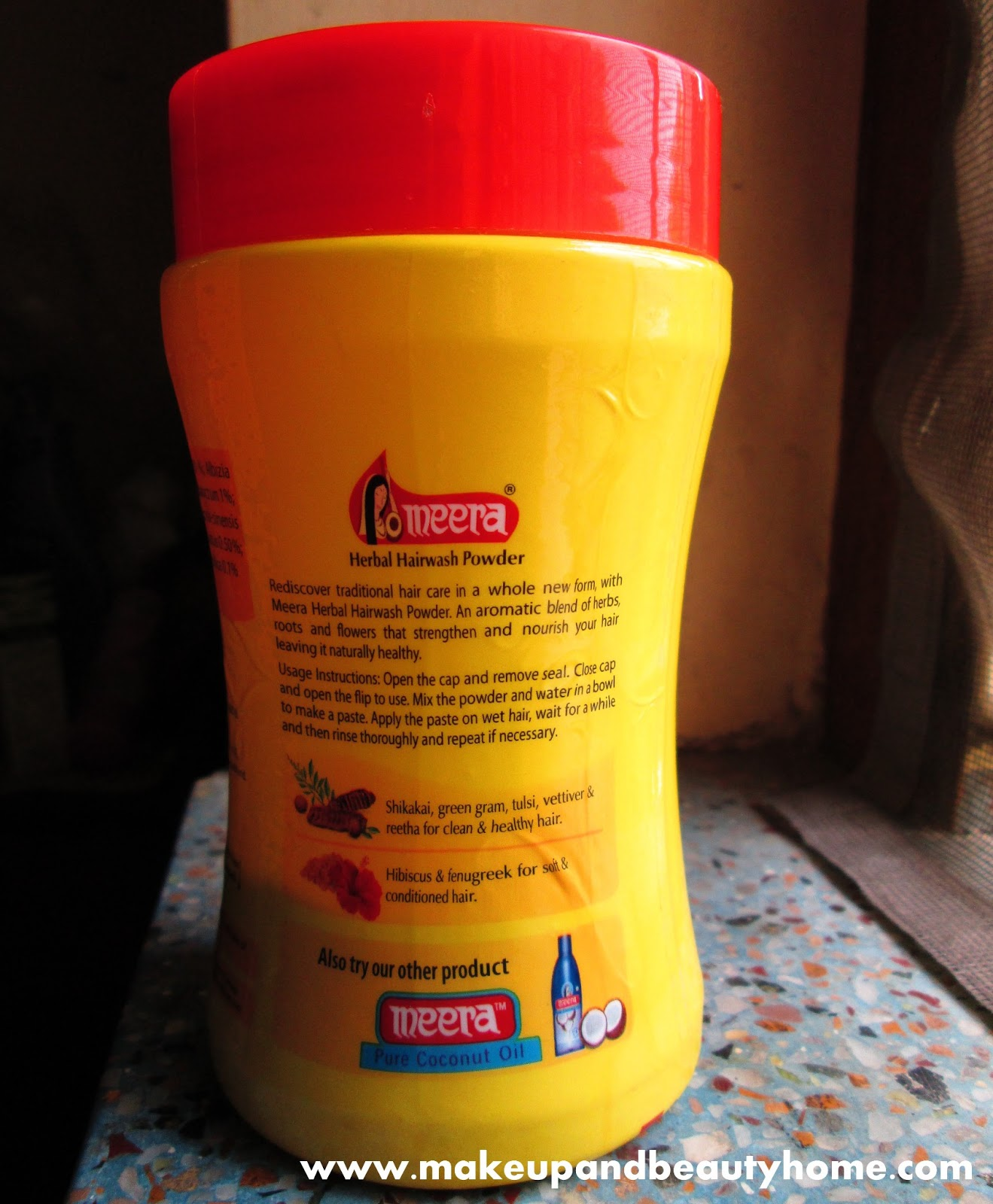 Meera Herbal Hair Wash Powder Review Blog Beauty Care Beauty