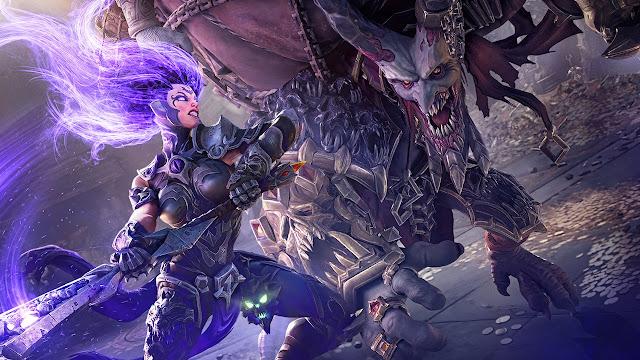 العرض الجديد للعبة Darksiders 3 تتحدث فيه شخصية Fury بلغة الجلد ، لنشاهد من هنا ..