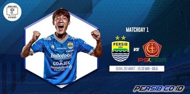 Jadwal Persib vs PS Tira Jadi Senin 26 Maret 2018