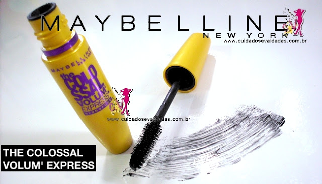 Máscara The Colossal Volum' Express Maybelline Waterproof