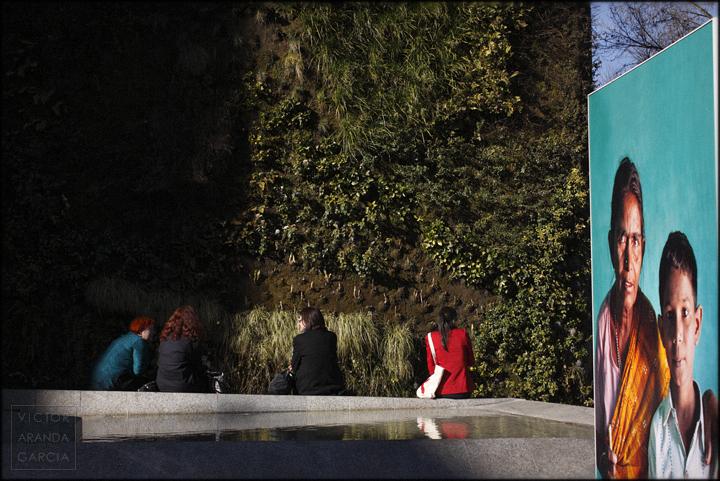 fotografia,naturaleza,jardin,vertical,cartel,mujeres,madrid