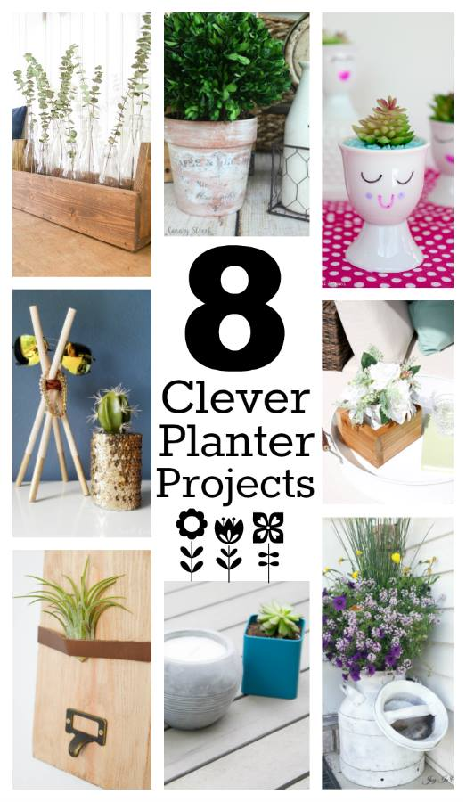 8 easy DIY planter ideas - Monthly DIY Challenge