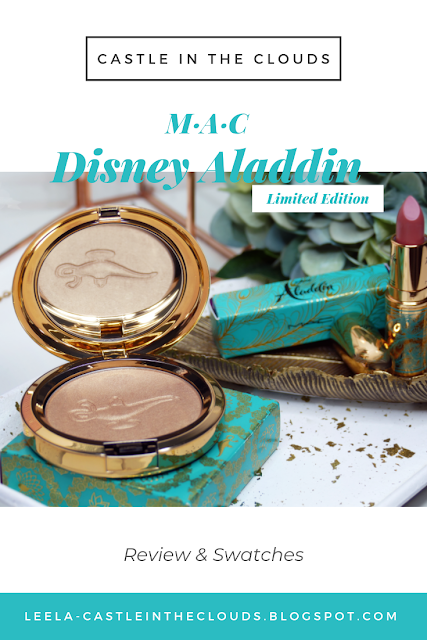 Review Mac Disney Aladdin Limited Edition Pinterest