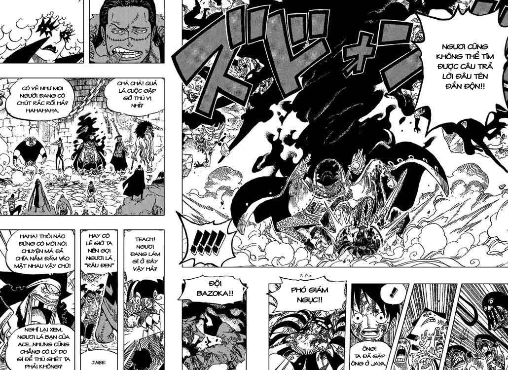 One Piece Chap 543