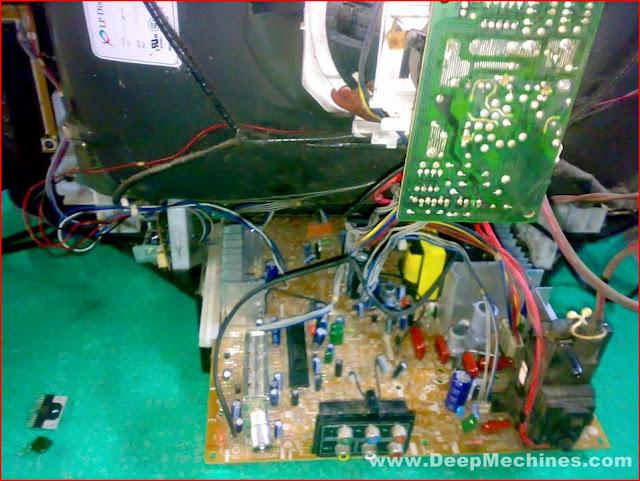 """Kerusakan Audio / Suara - TV LG 21"""" U-SLIM (Pearl Black) 21FU6AD-T4"""