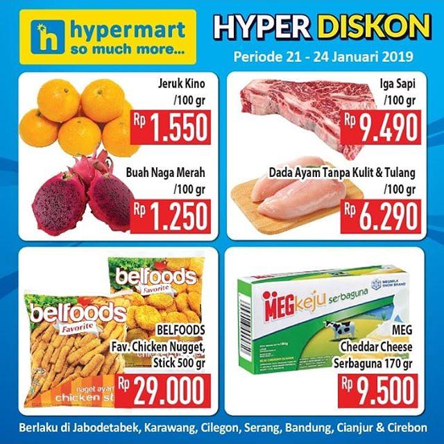 #Hypermart - #Promo #Katalog JSM Periode 25 - 27 Januari 2019