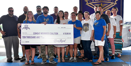 Crown Royal presents the 'Combat Wounded Coalition 400' at the Brickyard! (#NASCAR)