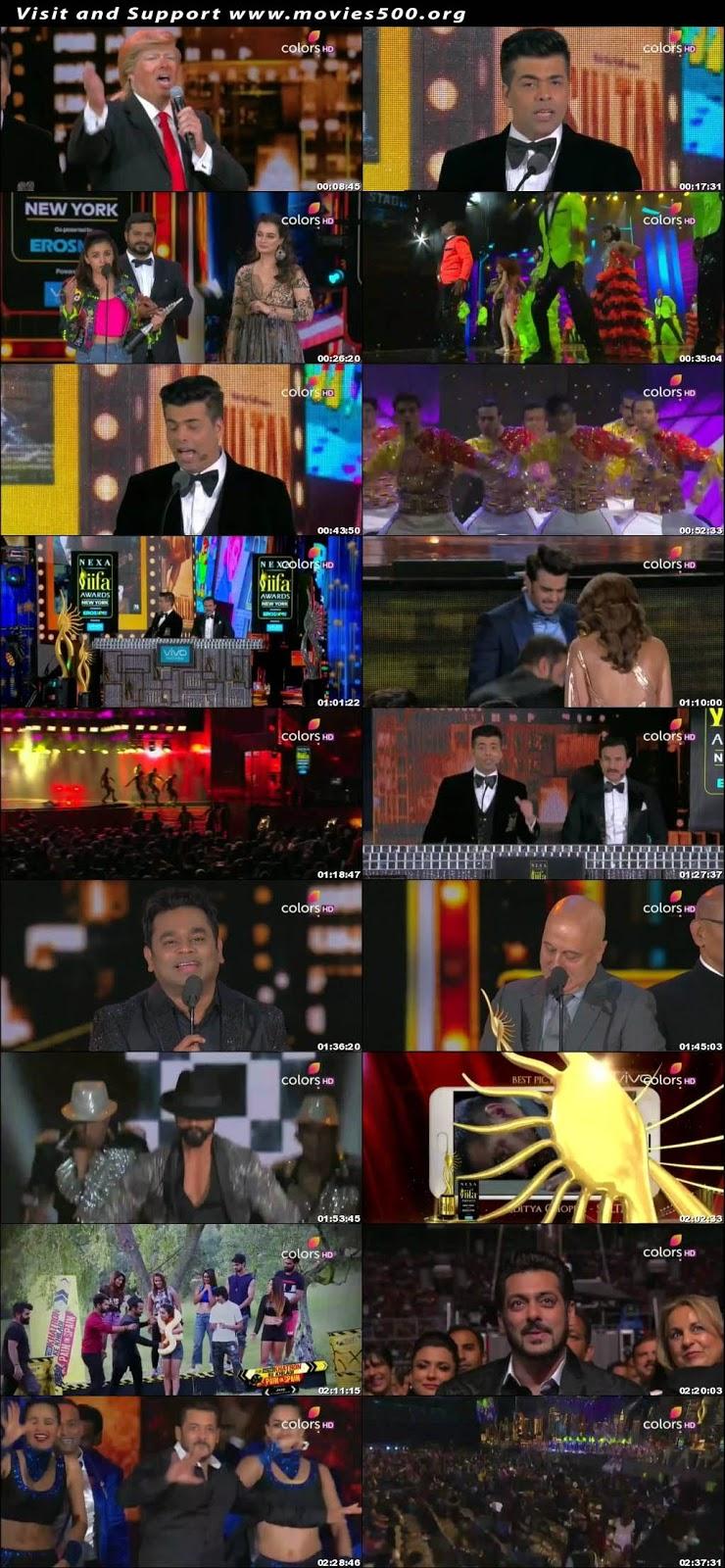 IIFA Awards 18Th 16th July 2017 Hindi Tv Award Show Download at movies500.org