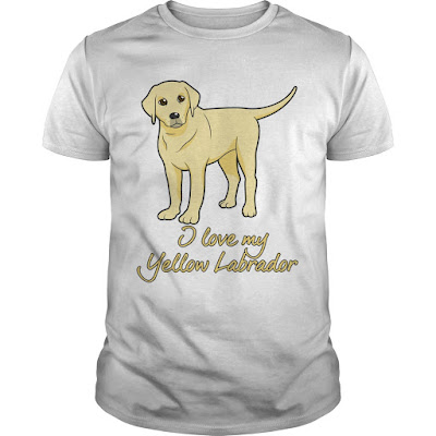 Tshirt for Yellow Lab Lover