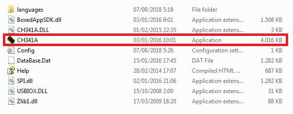 Aplikasi exe ch341a programmer