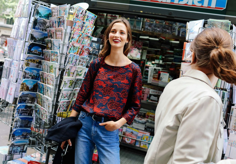 Street Style: Waleska Gorczevski's '90s Inspired Look