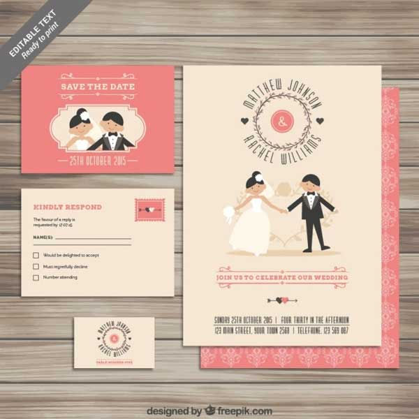 cartoon-wedding-invitation