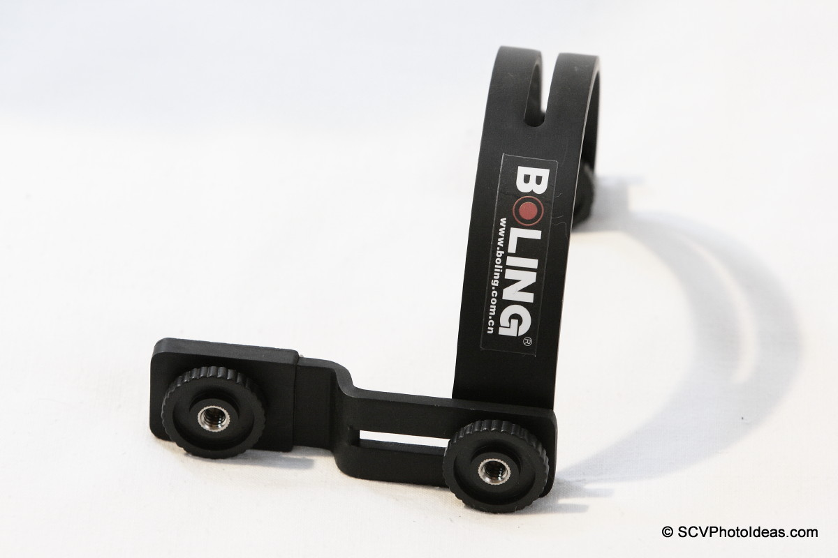 Boling C-Shape Flash Bracket S base view