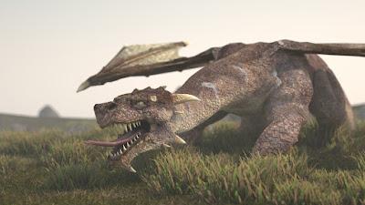dragon milenario por Islandia