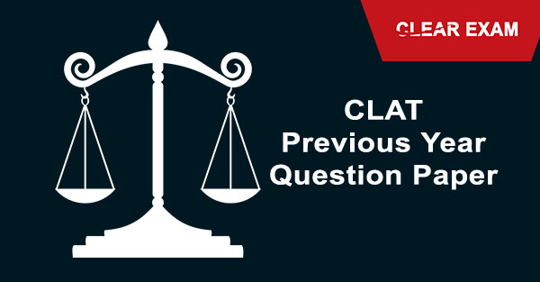 Clat Previous Year Question Paper