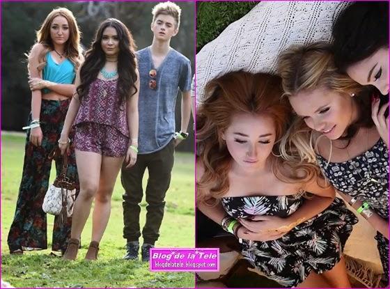 Blog de la Tele: Noah Cyrus y Stella Hudgens son modelos ...