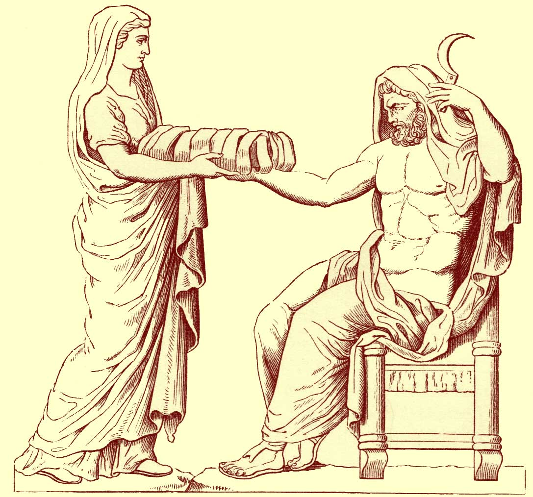 The Oracle And The Muse: Artful Thursday: Cronus... Like