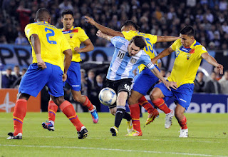 Ecuador vs Argentina en Eliminatorias Sudamericanas 2017