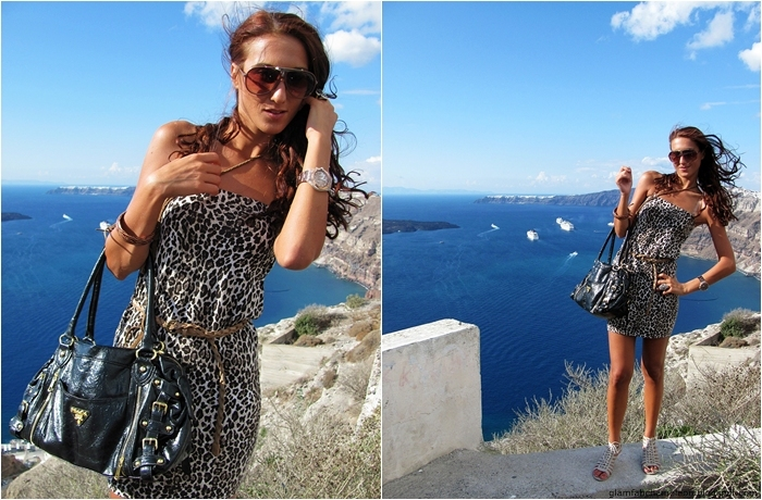 leopard print mini dress outfit