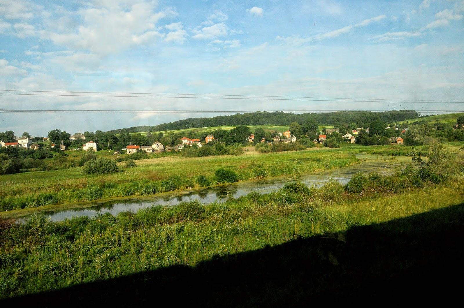 Ukraina treno Lviv