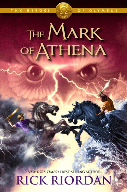 "News: Capa do livro ""The Mark of Athena"", do autor Rick Riordan. 17"