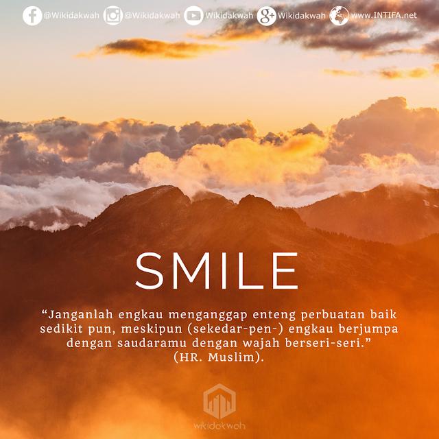 Gambar Kata: Jangan Remehkan Senyumanmu