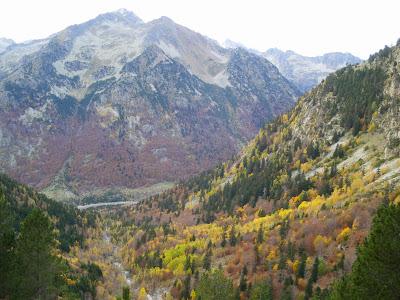 Vall de Besiberri a la tardor Alta Ribagorça Pirineu de Lleida