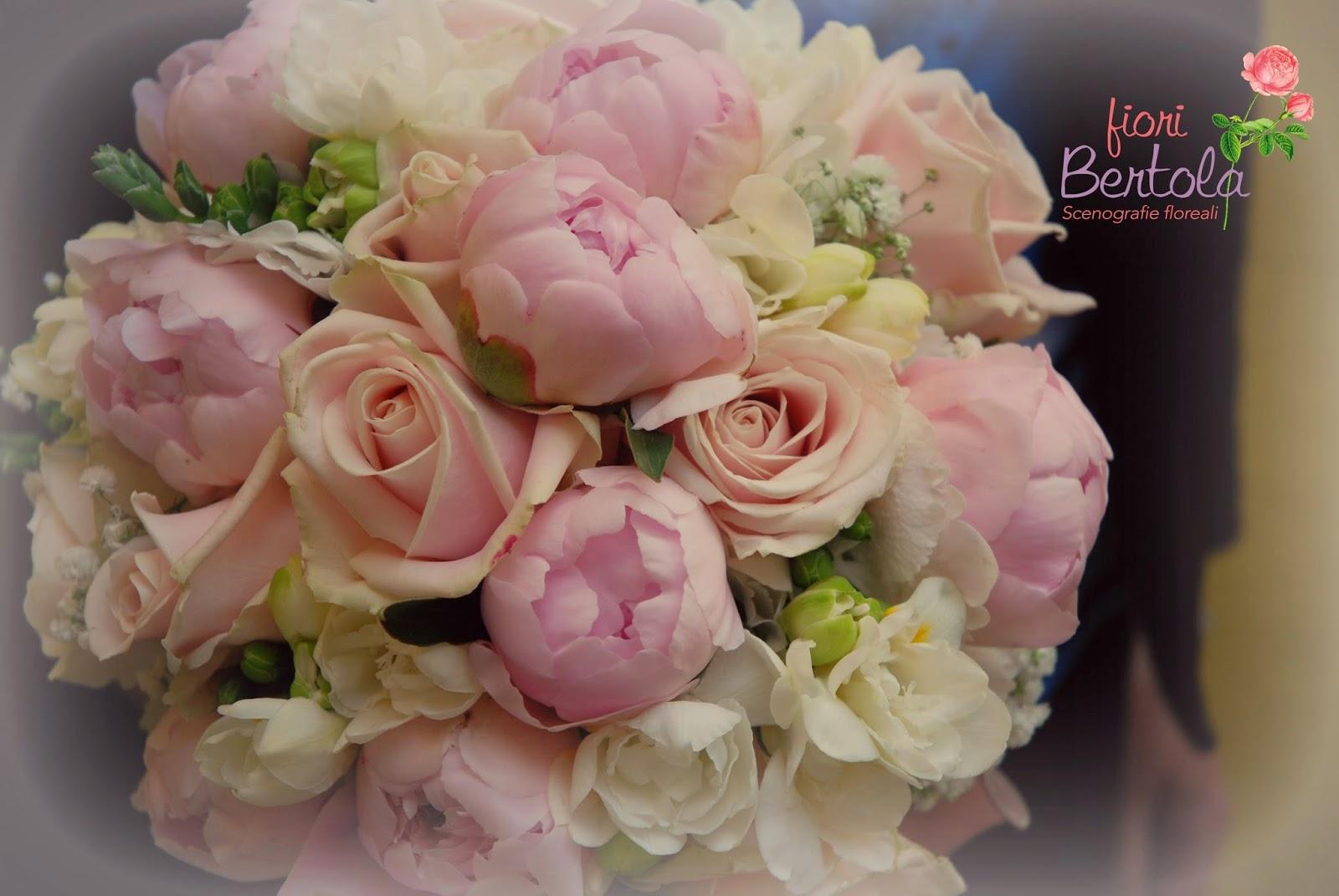 Favoloso Fiori Bertola: Matrimonio in bianco e rosa cipria TV22