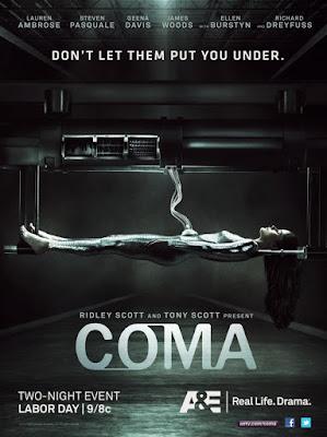 Coma (Miniserie de TV) 2012 DVD R1 NTSC Latino