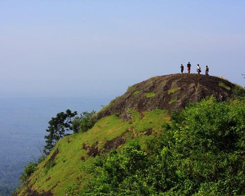 Travel.Tinuku.com Gunung Nglanggeran ancient volcano emerged from ocean floor to form giant stone in Gunung Kidul Geopark