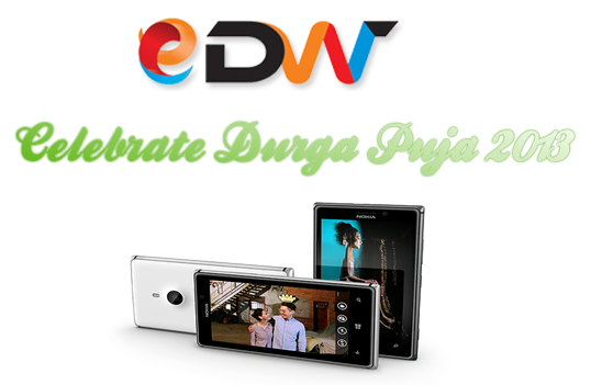 Nokia Lumia durga puja offers in Edigiworld