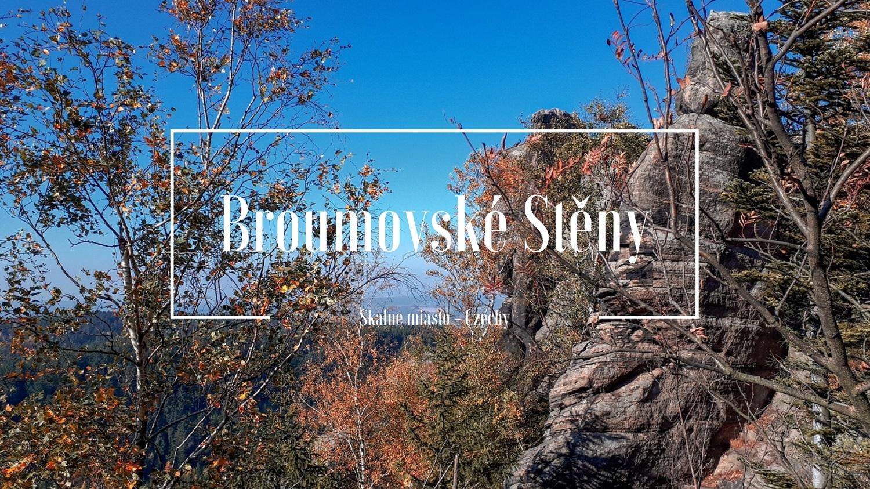 Broumovské Stěny - Broumowskie Ściany - Czechy - skalne miasto