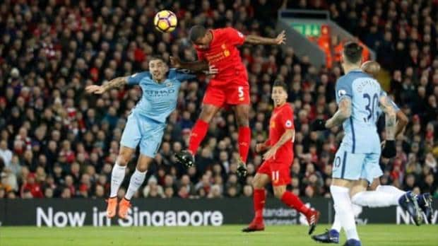 Hasil Pertandingan Liverpool vs Manchester City