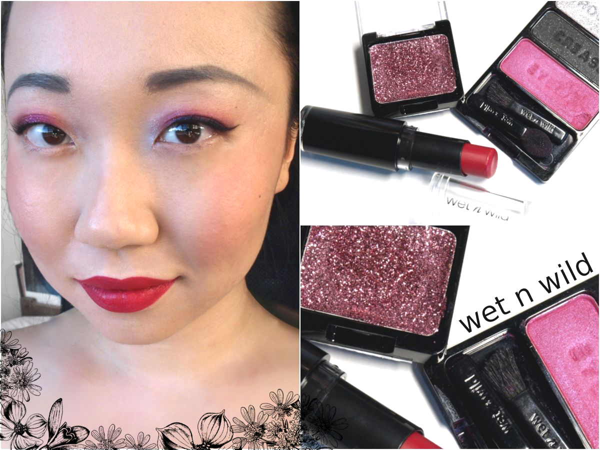 A Wet N Wild Pink Holiday Look The Happy Sloths Beauty Makeup