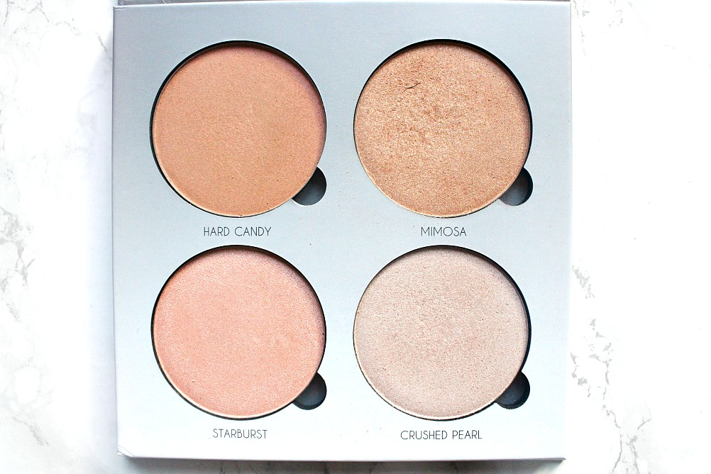 ABH glow kit in gleam review and swatches