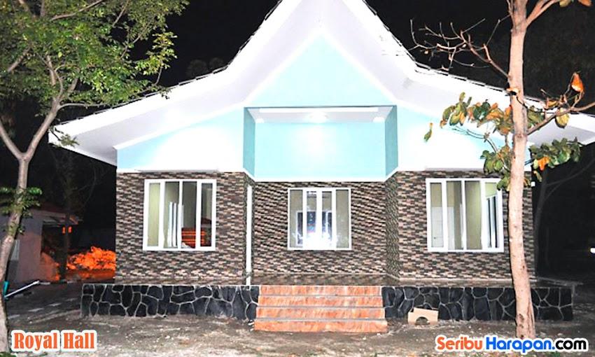 royal hall royal island paket wisata pulau kelapa