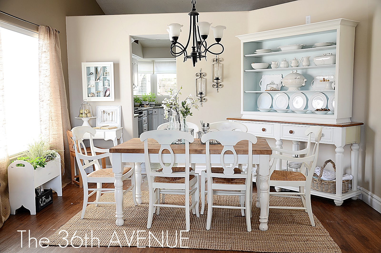 Modern Farmhouse Wall Decor Dining Room Dining Room Reveal And Design Tips The 36th Avenue
