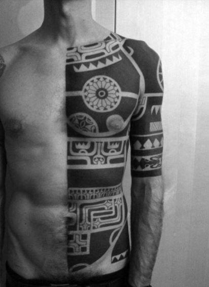 side Tattoos For Men