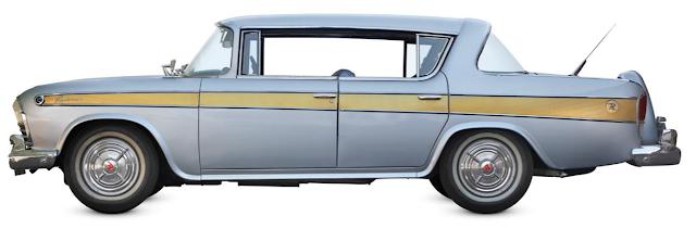 classic cars, Rambler Rebel