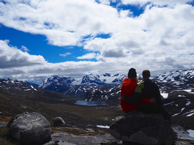 Jotunheimen, Norsko, trek, příroda, stanování