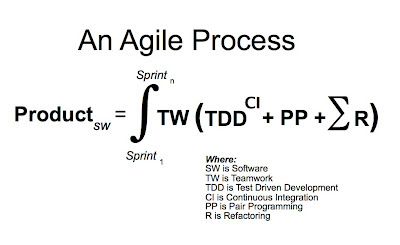 An Agile Process is an Integral Equation