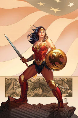 wonder woman art by frank cho